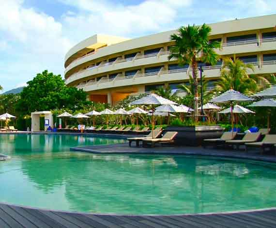 Hilton Phuket Arcadia Resort and Spa destination wedding venue phuket