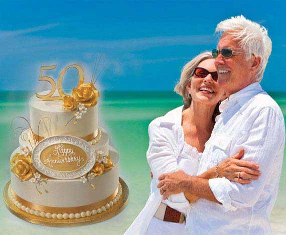 golden Destination wedding anniversary packages